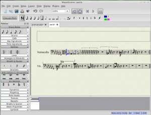 , How to Create Sheet Music (Linux Mint)