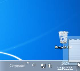 , Free Your Windows 7 Desktop While Drag&Dropping