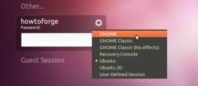 , Install GNOME Desktop On Ubuntu 11.10