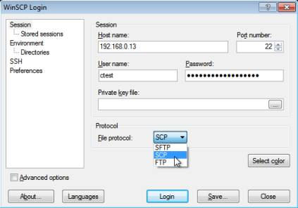 , FTP, SFTP and SCP Client for Windows