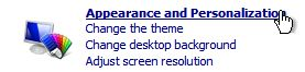 , Disabling Aero on Windows 7