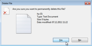 , Permanently Delete Files (Windows)