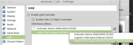 Enable USB Support In Virtualbox (Ubuntu)