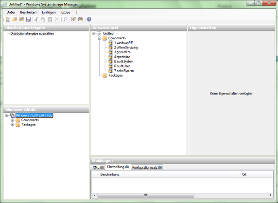 , Automated Windows 7 Installation with an Autounattend.xml File