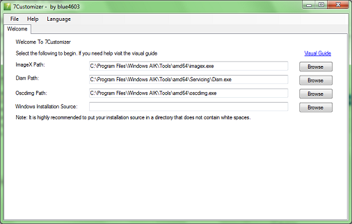 Customize Your Windows 7 Installation Disk with 7Customizer