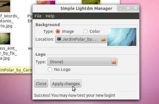 , Change Log-In Screen Background Image on Ubuntu Linux