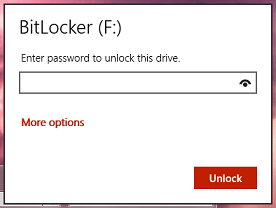 Password protect drives on Windows with BitLocker