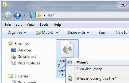 , Mount disk images in Windows 8