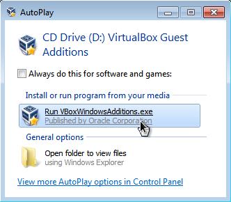 How to enable Windows 7 Aero in Virtualbox