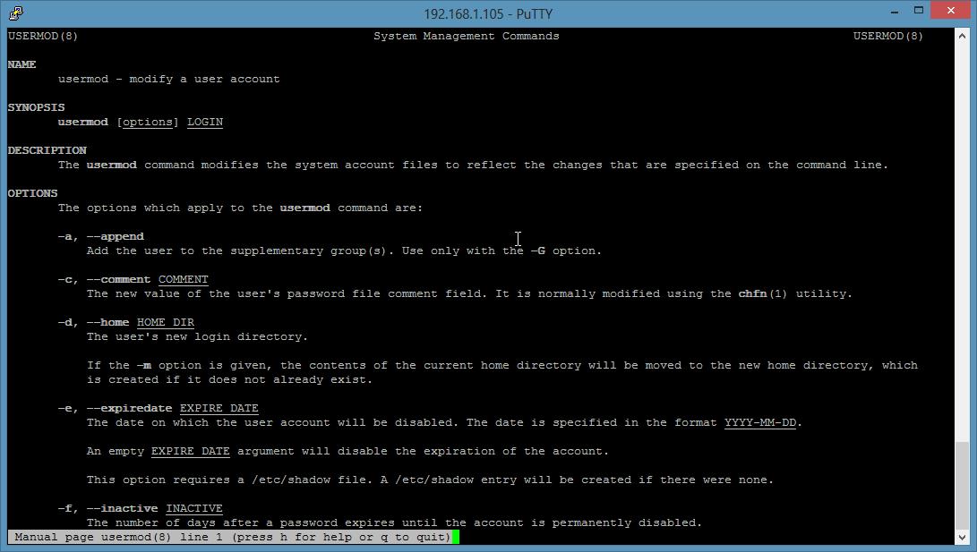 Unix Group Command 59