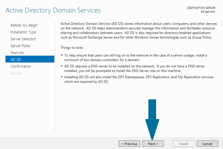How to Configure Active Directory on Windows Server 2012 R2