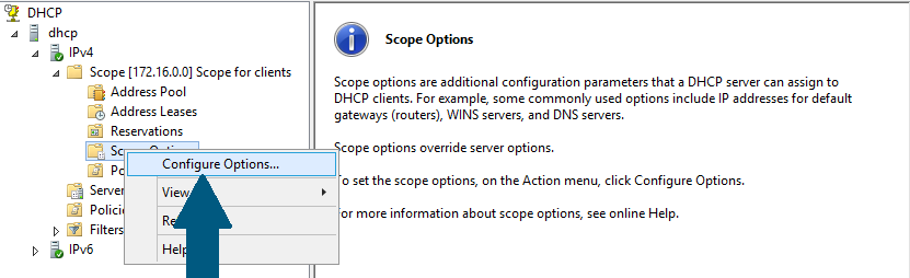 Scope Options