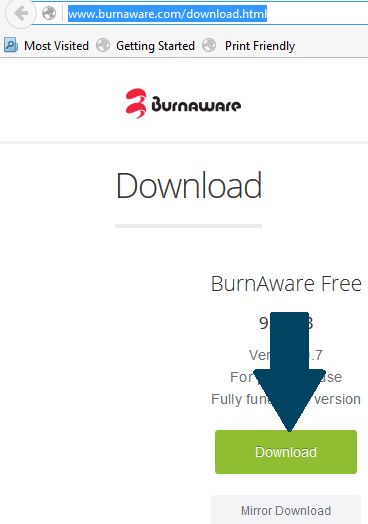 Download BurnAware Free