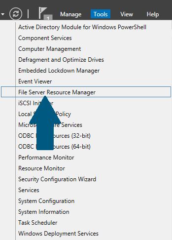 File Server Resource Manager