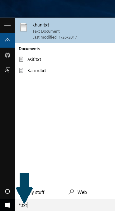 The Windows Search Box