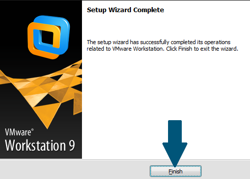 Finish the installation wizard
