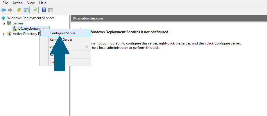 Configure Server