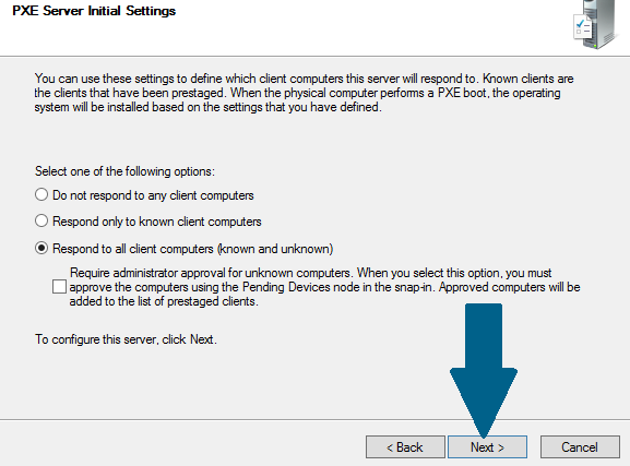 How to Setup Windows Deployment Services with Separate DHCP