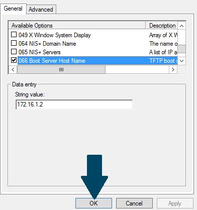 066 Boot Server Host Name