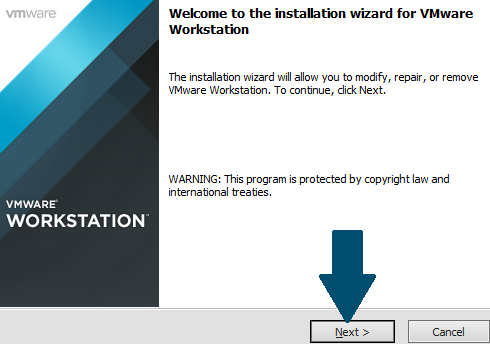 Proceed with installation
