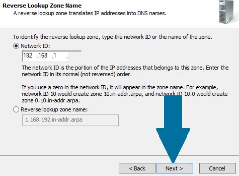 Provide network ID