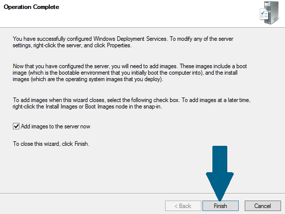 Add images to your WDS server