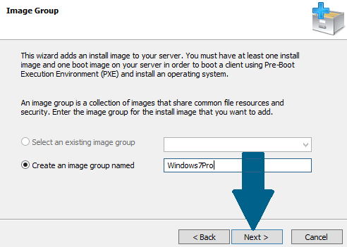 Provide an image group name