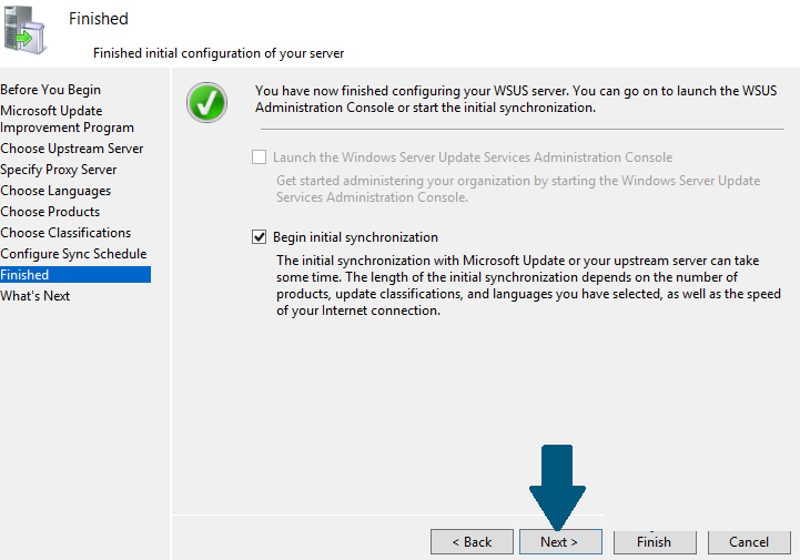 How to Configure Windows Server Update Services on Windows