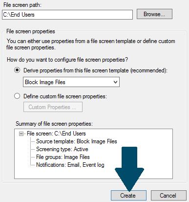 Add a file screen