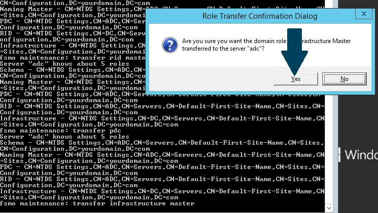 transfer infrastructure master