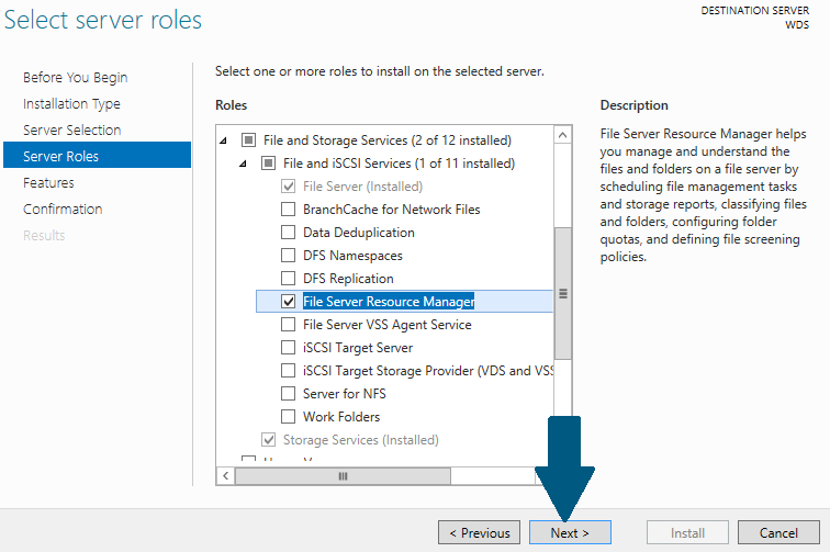 How to Configure and Enable Quota on Shared Folder Using