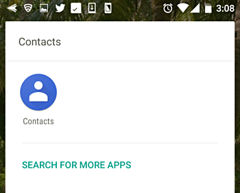 Launch the Contacts app on your phone