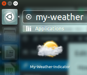 Ubuntu Weather Indicator