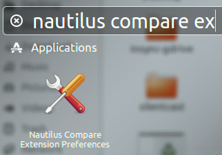 Nautilus Compare Extension