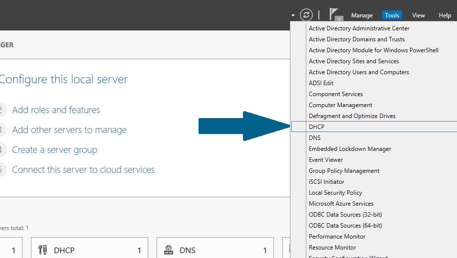 How to Configure DHCP Server on Windows Server 2012 R2