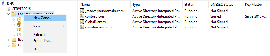 , How to Install DNS and Configure DNS Records on Windows Server 2016