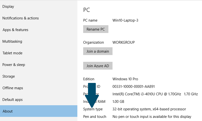 How to Upgrade from 32-bit to 64-bit Version of Windows 10