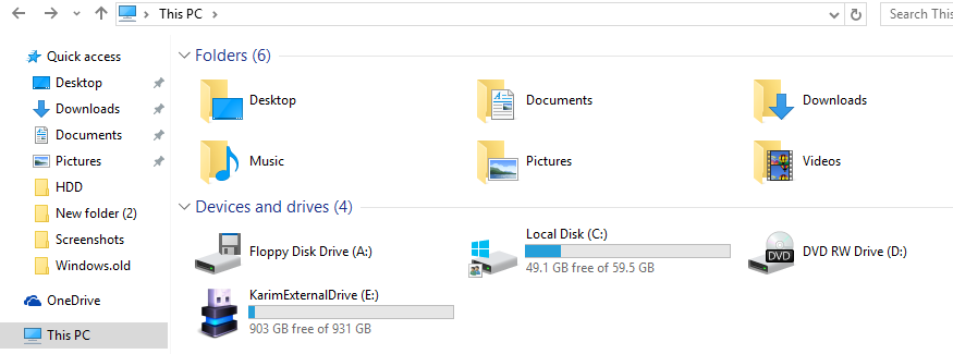Removable drive with custom icon on Windows 10
