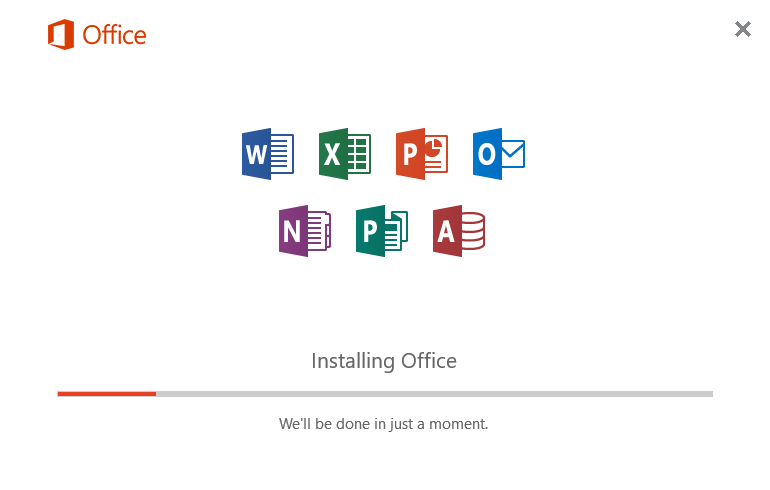 Installing Office 365