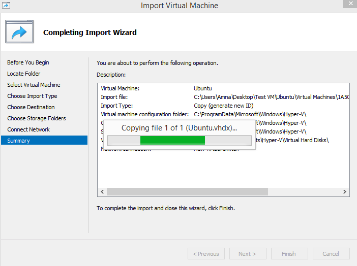 How to Import and Export Virtual Machines in Windows Hyper-V