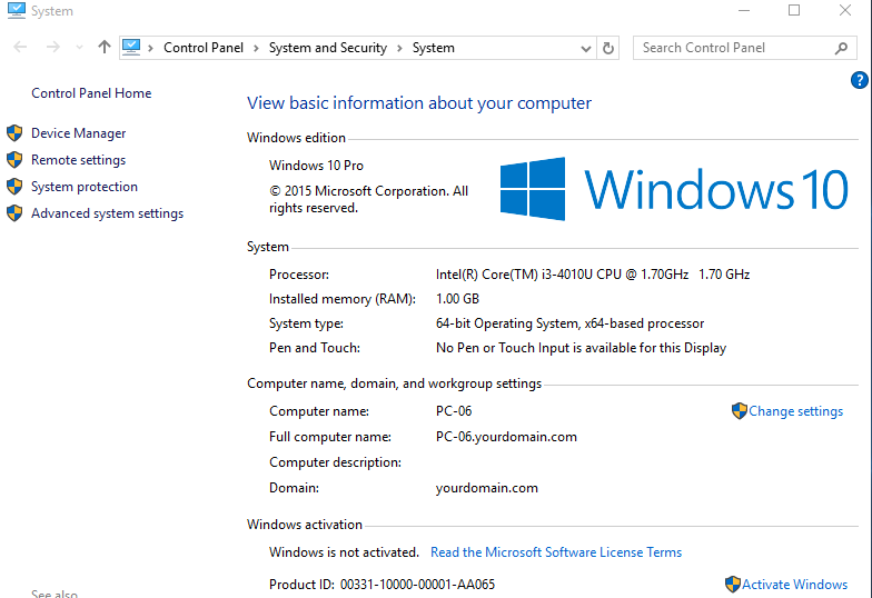 How to Unjoin Windows 10 from AD Domain