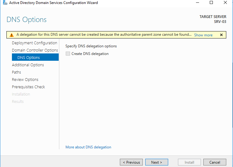 , How to Add a New Domain in Existing Forest in Windows Server 2016 Using Server Manager