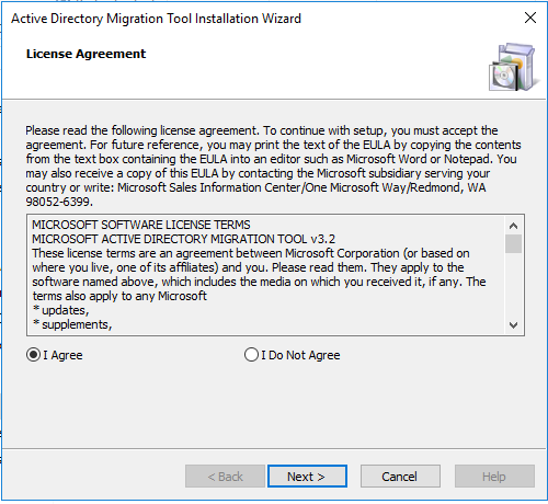 , How to Install Active Directory Migration Tool (ADMT) 3.2 on Windows Server 2016