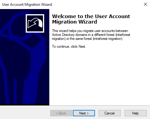 User Migration Wizard