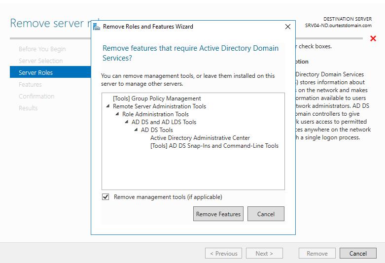 Remove server