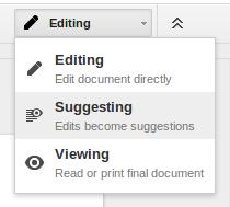 suggesting-option-menu