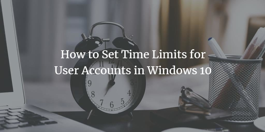Windows User Time Limit