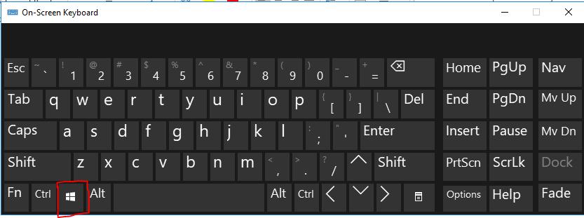 Open Windows Start menu