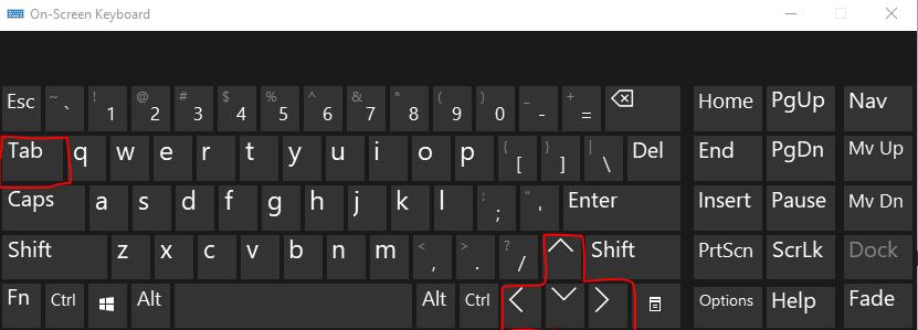 Windows Keyboard Shortcut