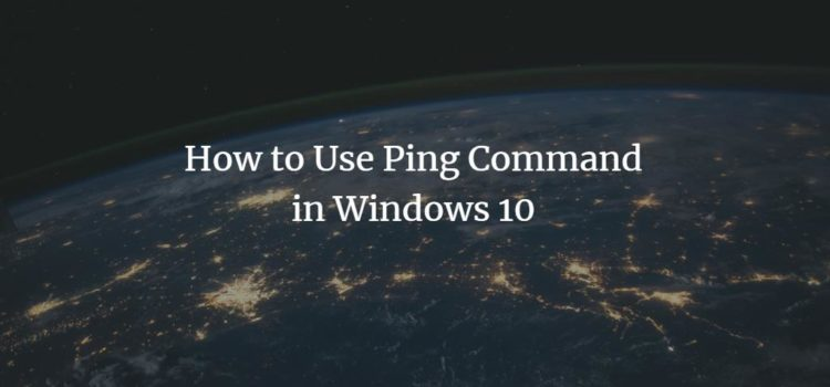 Windows Ping Command